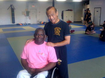 Joe Singleton with Guro Inosanto 2008