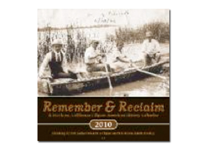 2010 Remember & Reclaim Calendar